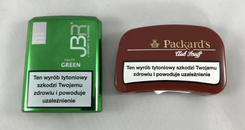 tabaka JBR tabaka Packards